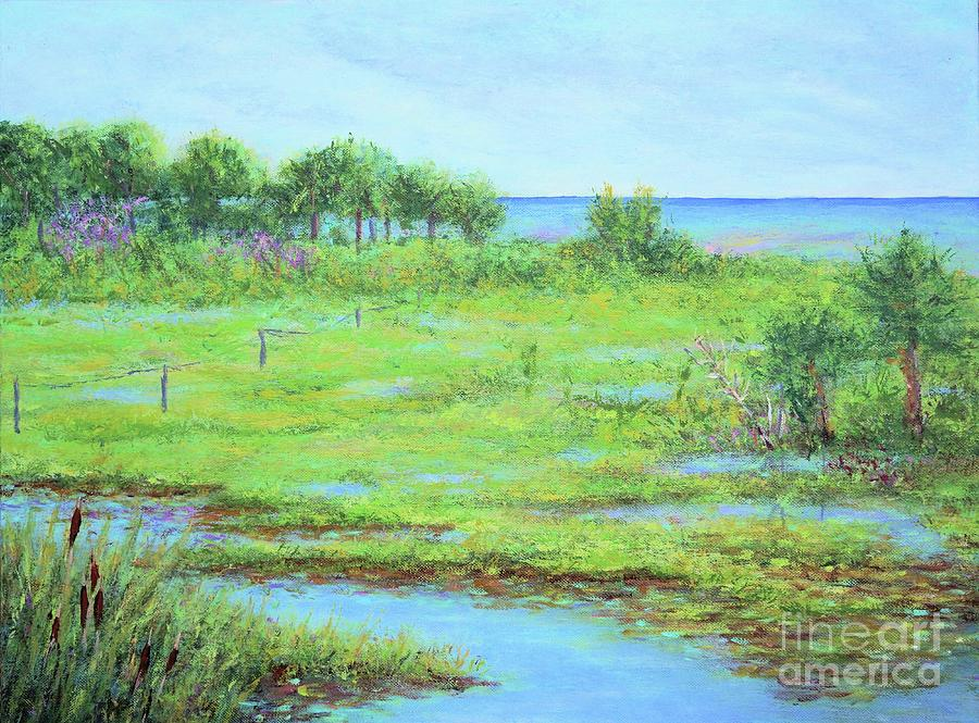 St. Marks Refuge I - Summer by Gail Kent