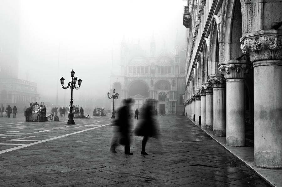 Venice Photograph - St Marks Square by Marion Galt
