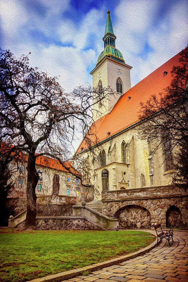 St Martins Cathedral Bratislava Photograph