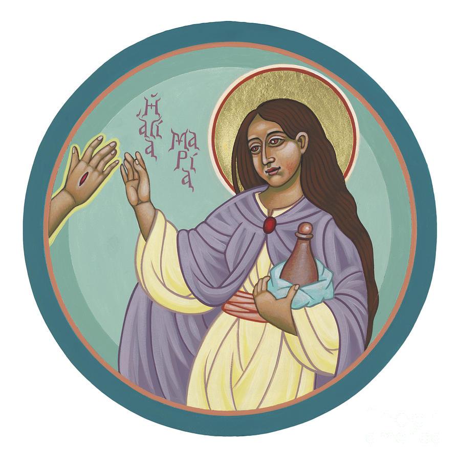 St Mary Magdalen  Rabboni -  John 20 16 by William Hart McNichols
