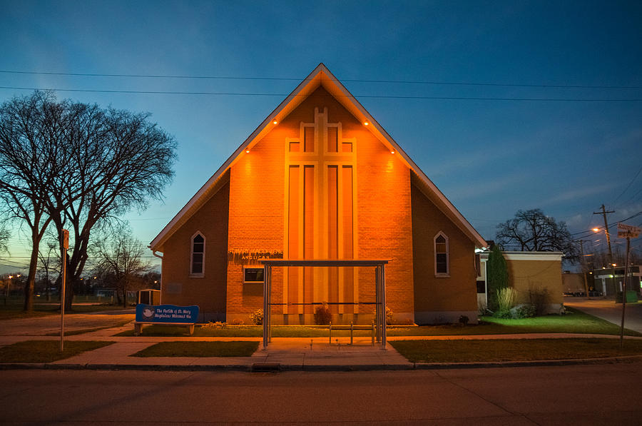 Architecture Photograph - St. Mary Magdalene Anglican by Bryan Scott