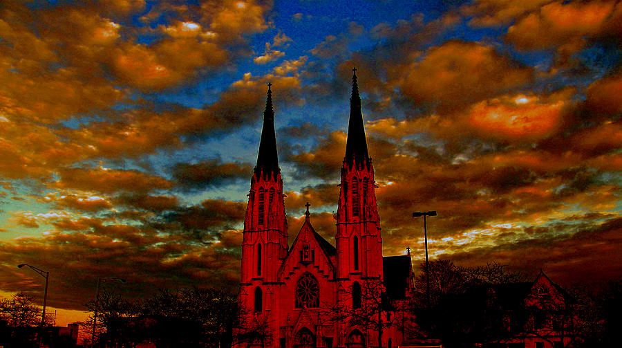Sunsets Photograph - St. Mary by Martin Morehead