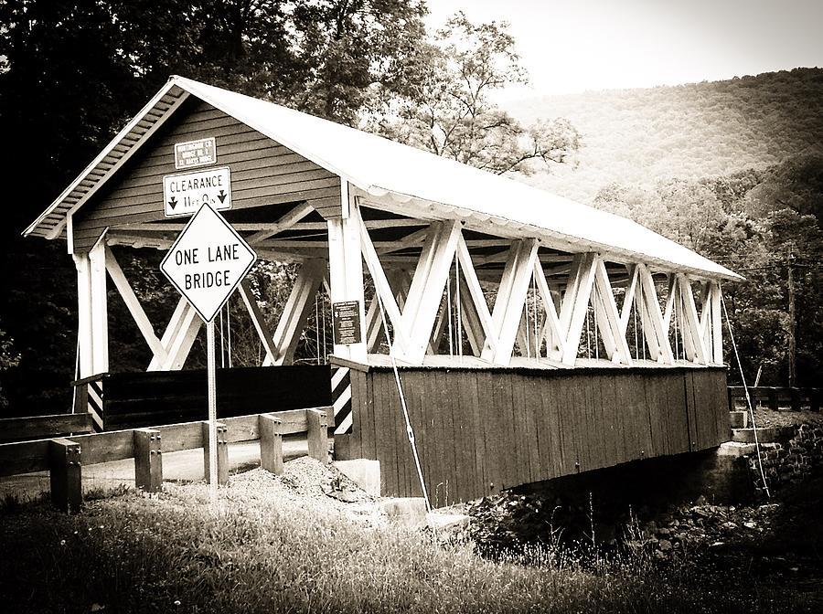 St. Mary's Bridge Pennsylvania by Wendy S Beatty