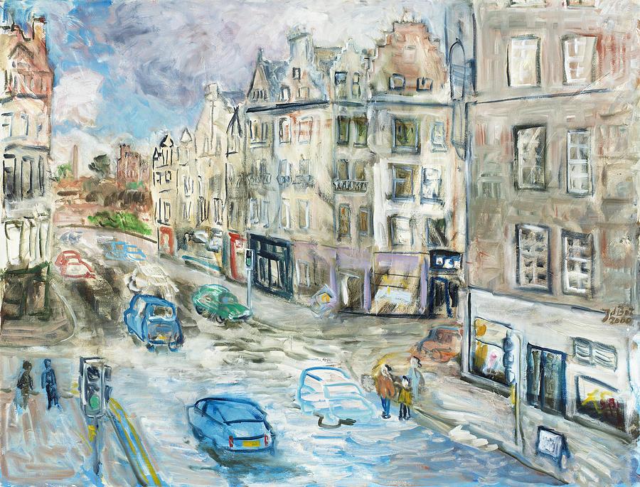 St. Marys Street Painting by Joan De Bot
