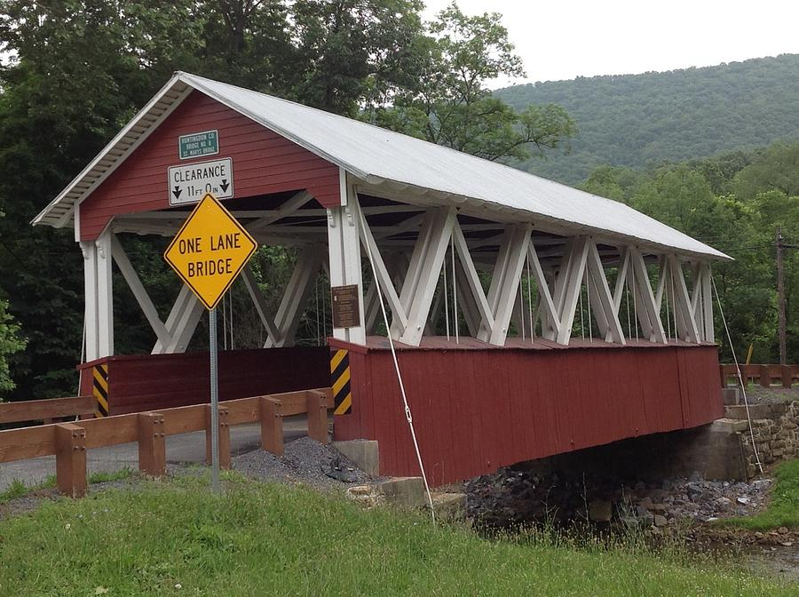 St. Mary's The Covered Bridge by Wendy S Beatty