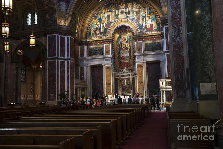 Washington Photograph - St Matthew the Apostle Cathedral by David Bearden