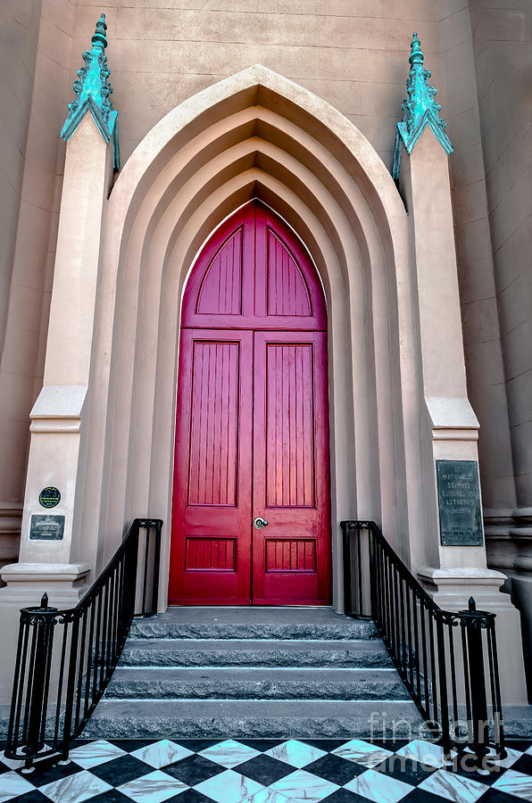 St. Matthews German Evangelical Lutheran Church Photograph