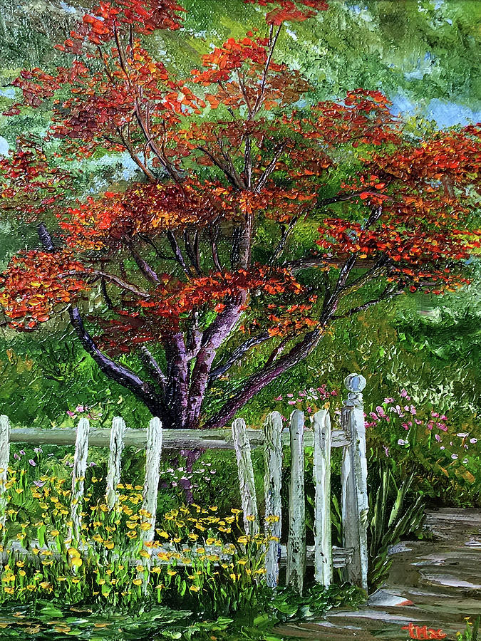 Landscape Painting - St. Michaels Tree by Terry R MacDonald