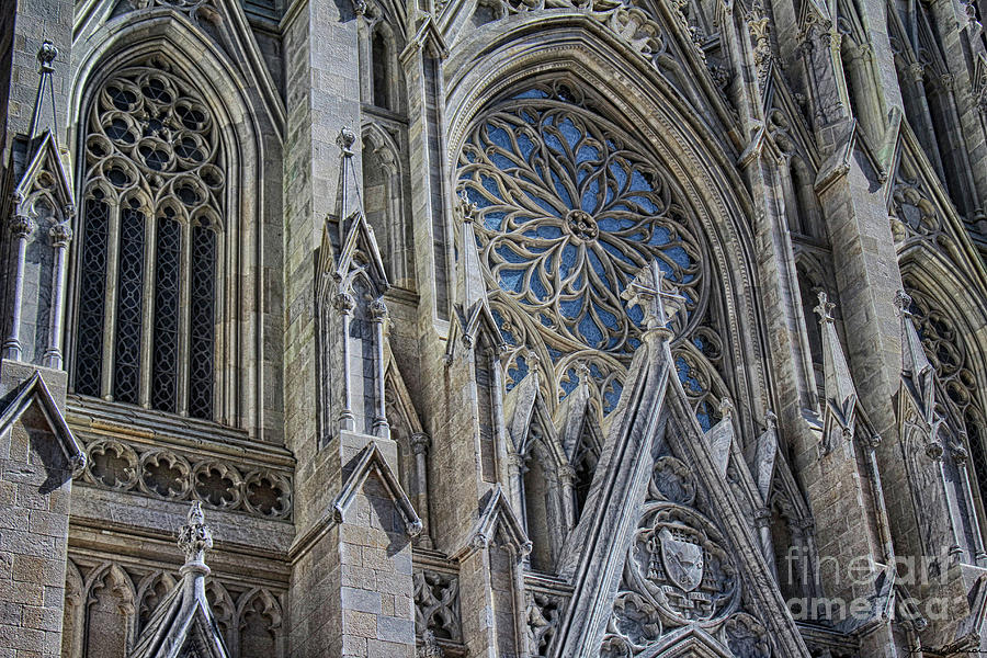 st patrick s cathedral nyc photograph by jeanne oconnor