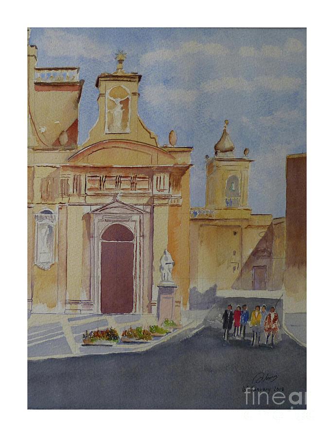St Paul Church Rabat by Godwin Cassar
