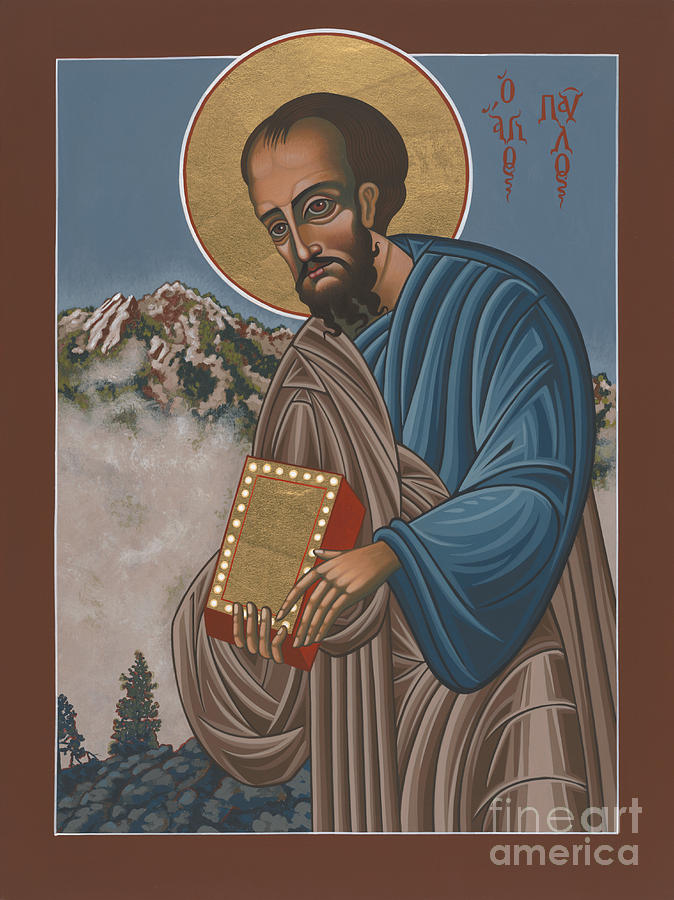 St Paul The Apostle Painting - St Paul the Apostle 196 by William Hart McNichols