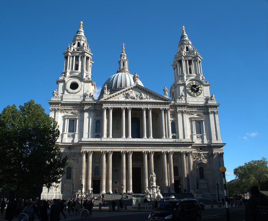 St Pauls Photograph - St Pauls Cathedral by Chris Day