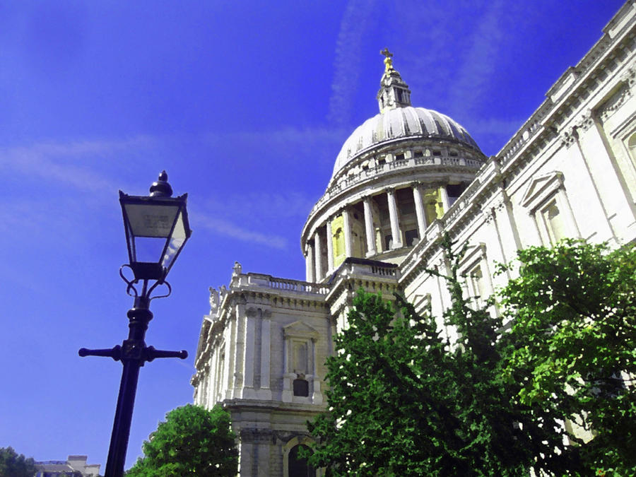 St Pauls Cathedral, London Painting