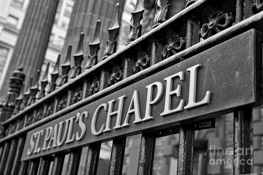 St. Paul's Chapel by Kate Purdy