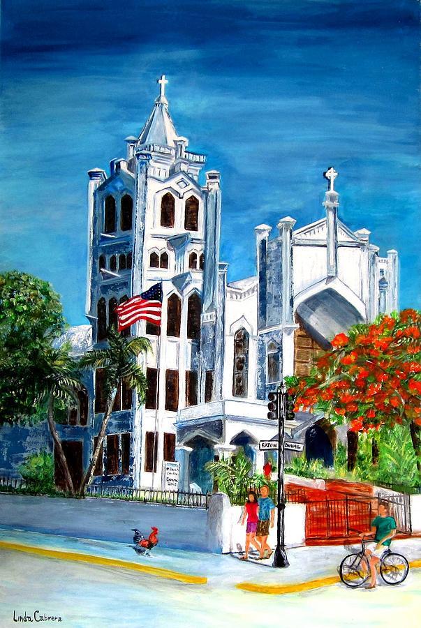 St. Paul's Church  by Linda Cabrera
