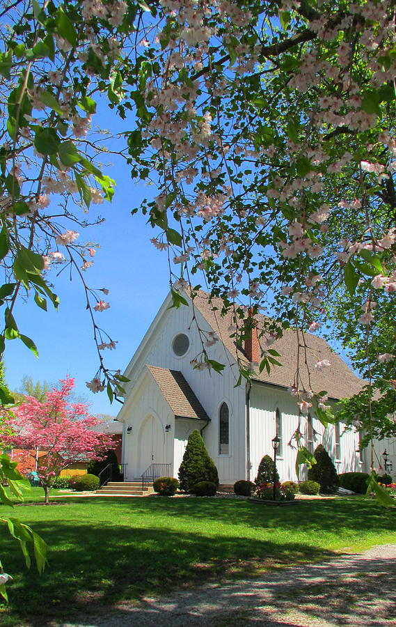 Church Photograph - St. Pauls Episcopal Church by Denise   Hoff