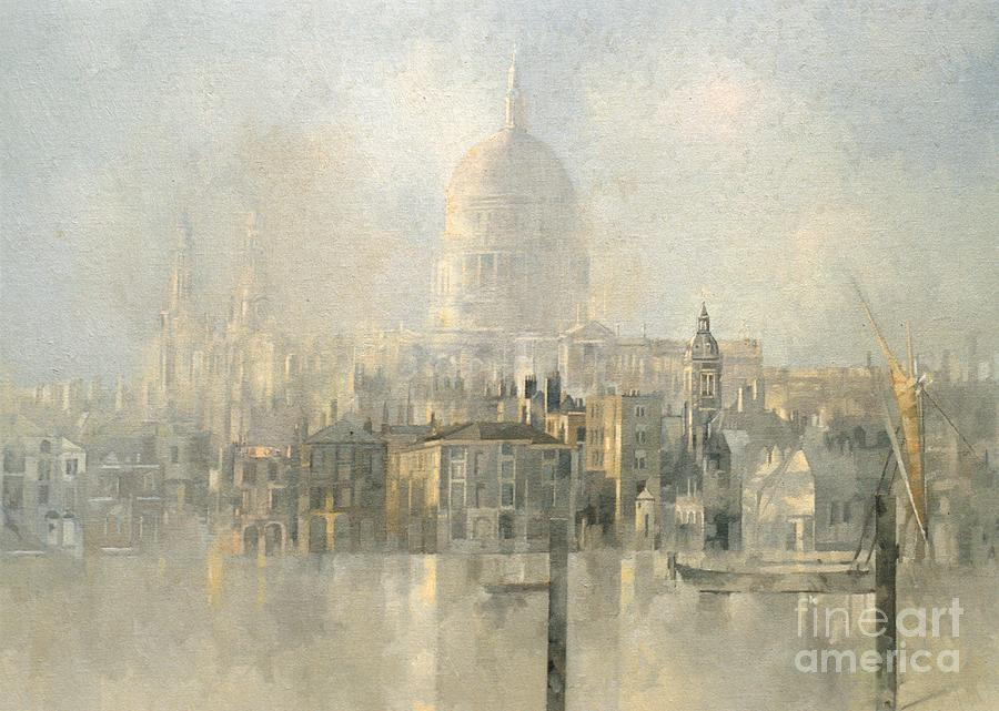 St Pauls Painting by Peter Miller
