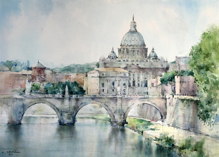 Who Painted Saint Peter S Basilica
