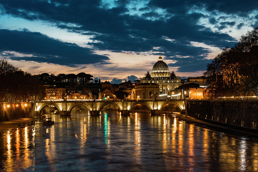 St. Peter's Basilica 2 by Gary Lengyel