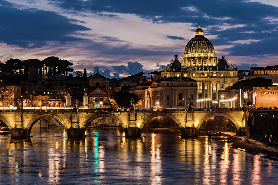 St. Peter's Basilica - 3 by Gary Lengyel