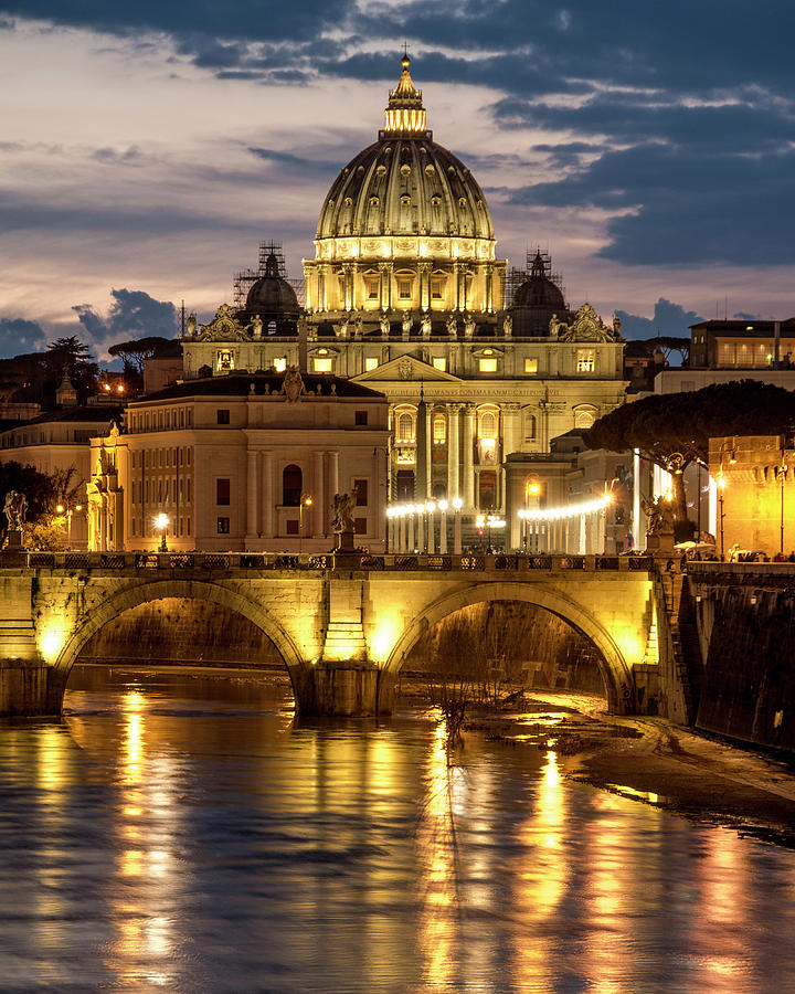 St. Peter's Basilica by Gary Lengyel