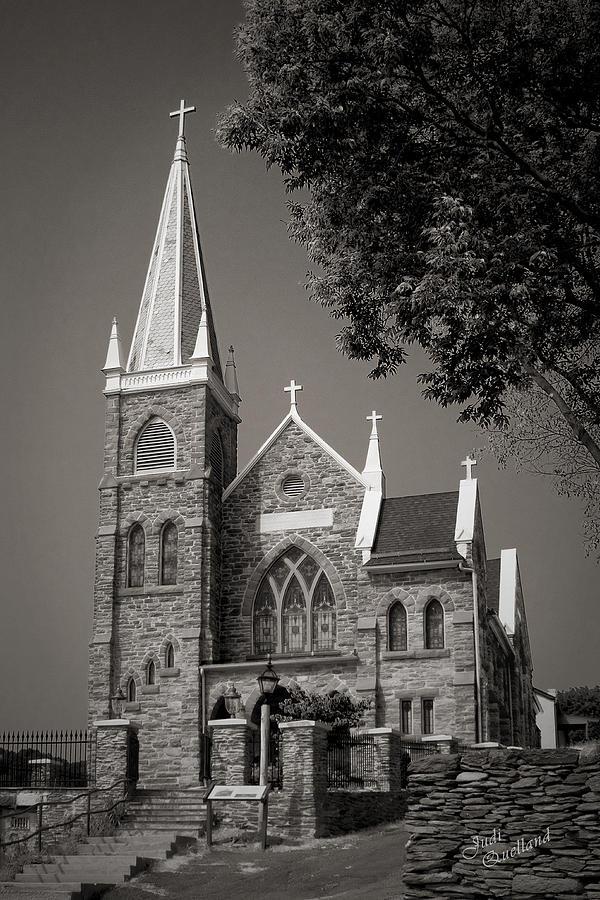 Church Photograph - St. Peters Catholic Chuch by Judi Quelland