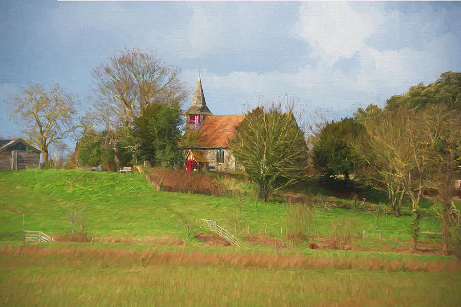 St Peter's Church 2 by Roy Pedersen