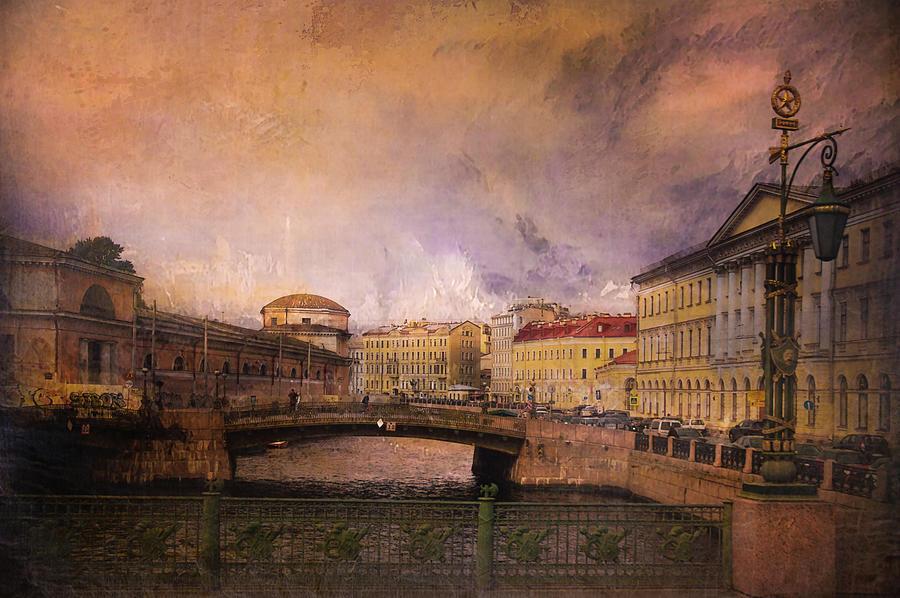 St Petersburg Canal Photograph