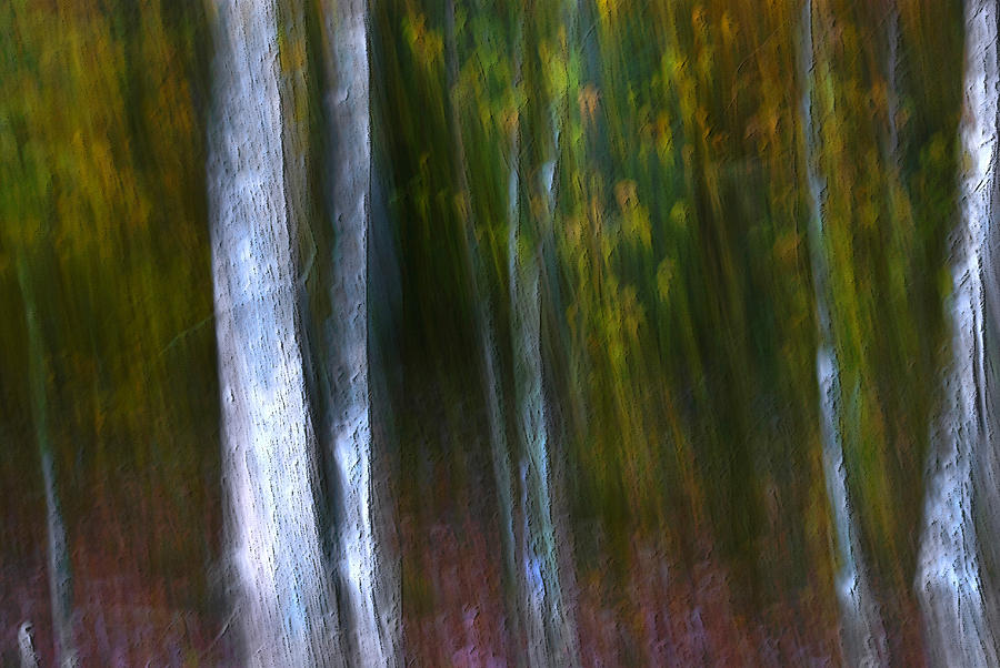 Abstract Photograph - St Rd  66 # 2 by Perry James