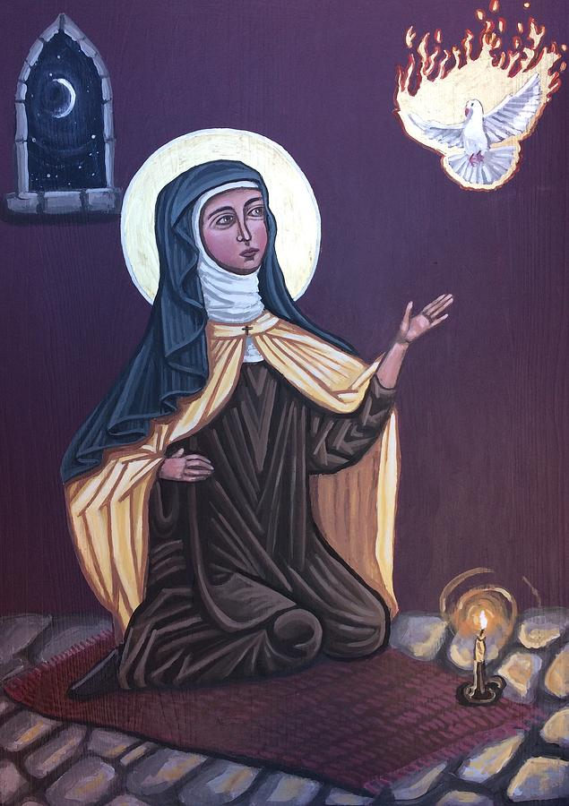 St. Teresa of Avila by Kelly Latimore