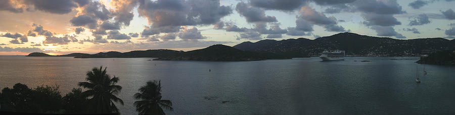 St. Thomas Photograph - St. Thomas At Dusk by Gary Lobdell