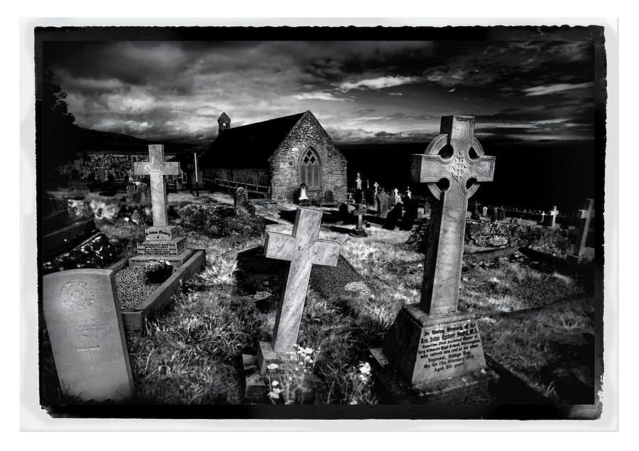 Church Photograph - St Tudnos Church by Mal Bray