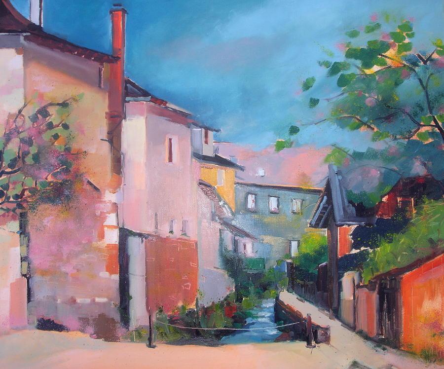 St Yrieux La Perche Painting