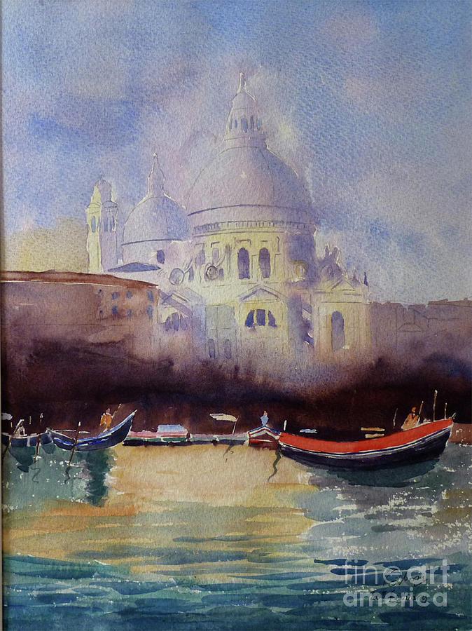Sta Maria della Salute Venice by Godwin Cassar