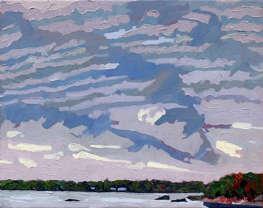 Singleton Painting - Stable Layer by Phil Chadwick