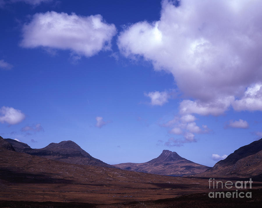 Stac Pollaidh Inverpolly National Nature Reserve Wester Ross Scotland Photograph by Michael Walters