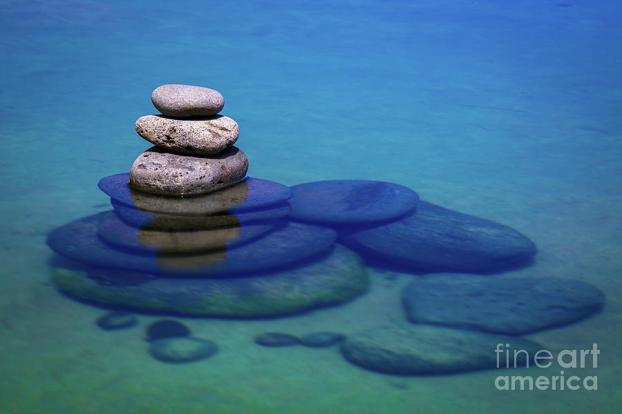 Stacked Rocks by Anthony Michael Bonafede