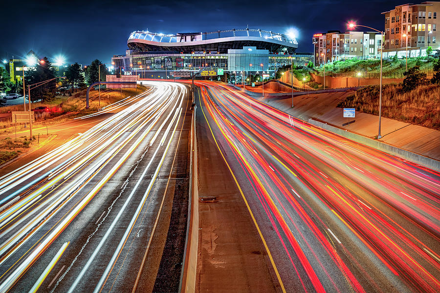 Stadium at Mile High - Denver Colorado by Gregory Ballos