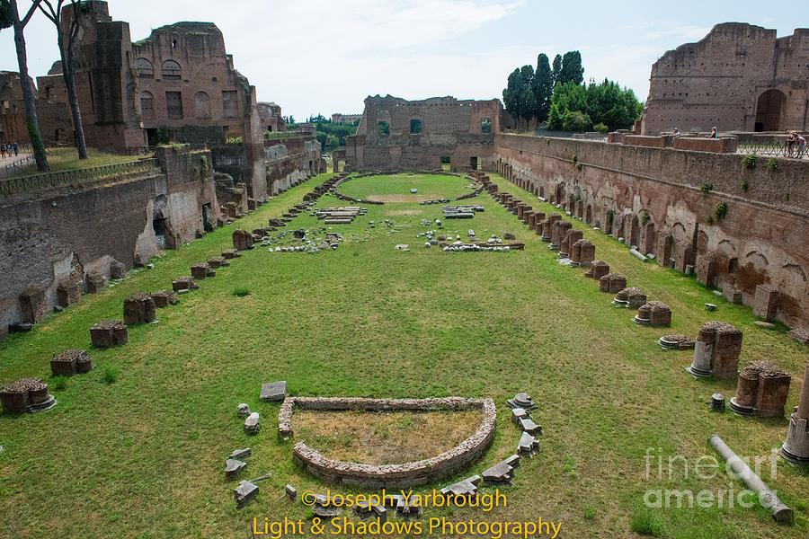 Campus Martius Photograph - Stadium Of Domitian by Joseph Yarbrough