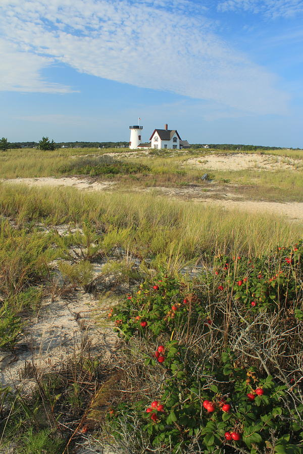 Chatham Photograph - Stage Harbor Lighthouse Cape Cod by John Burk
