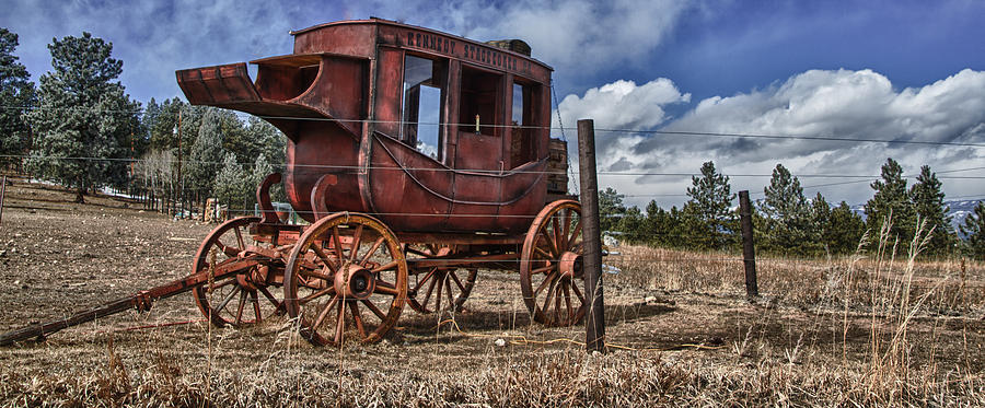 Stagecoach I by Ron White