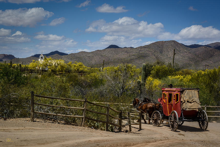 Stagecoach Photograph - Stagecoach by Pat Scanlon