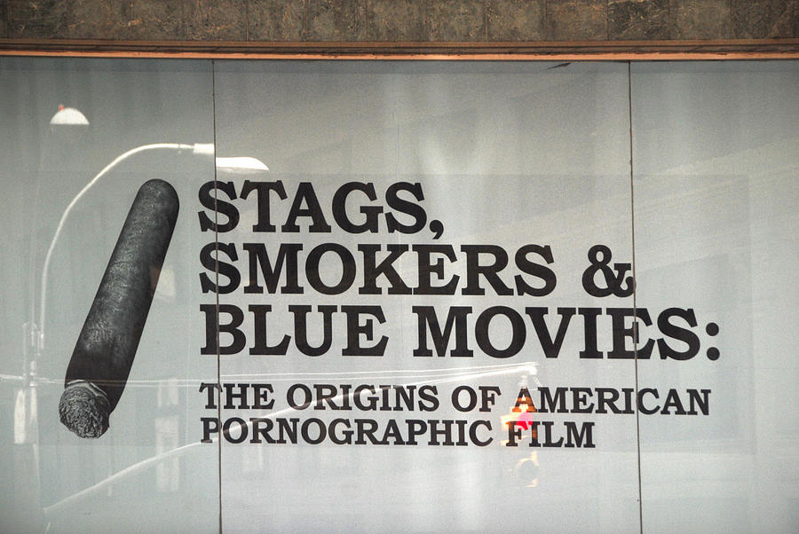 Nyc Photograph - Stags Smokers And Blue Movies by James Zuffoletto