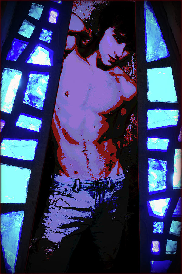 Stained Glass - 2/10 by John Waiblinger