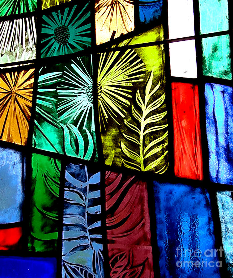 Stained Glass Photograph - Stained Glass 3 by Windi Rosson