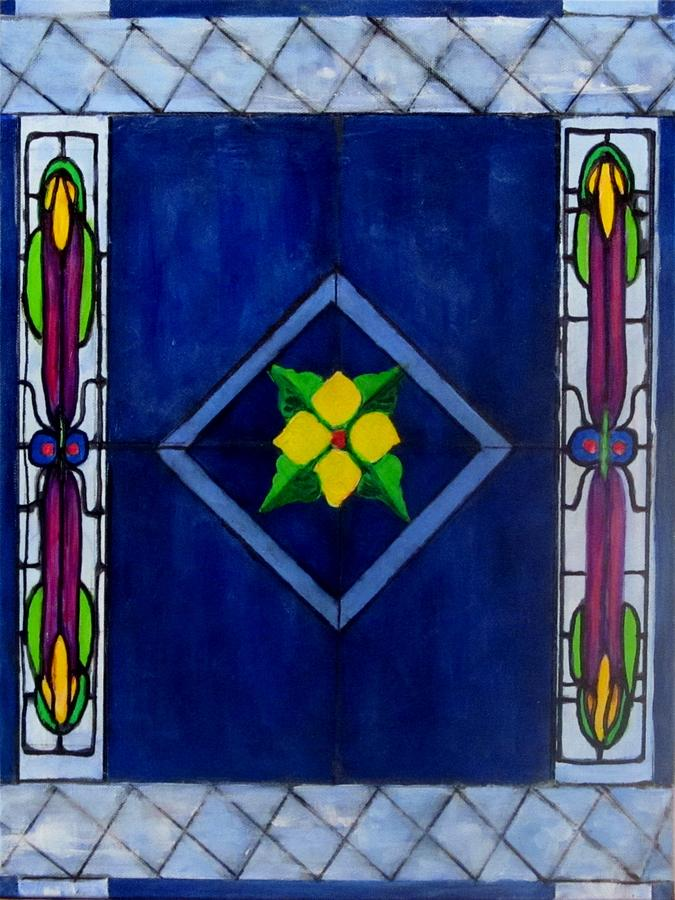 Design Painting - Stained Glass by Carol Allen Anfinsen