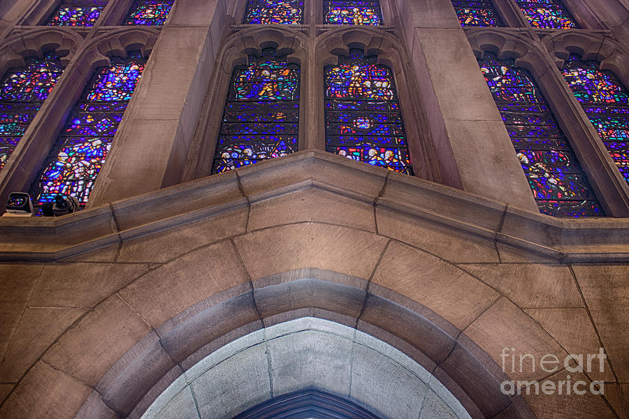 Interior Photograph - Stained Glass by Tom Gari Gallery-Three-Photography