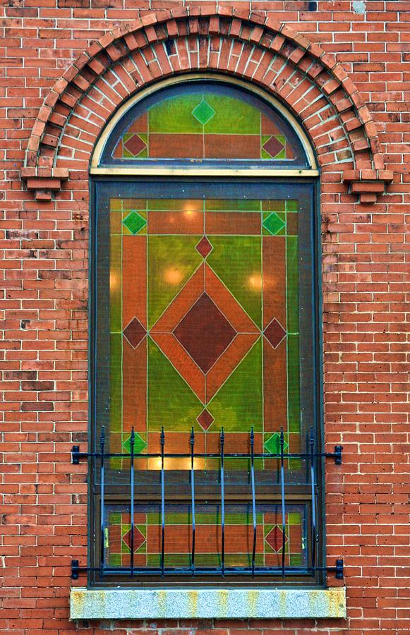 Stained Glass Photograph - Stained Glass Window by Tatiana Travelways