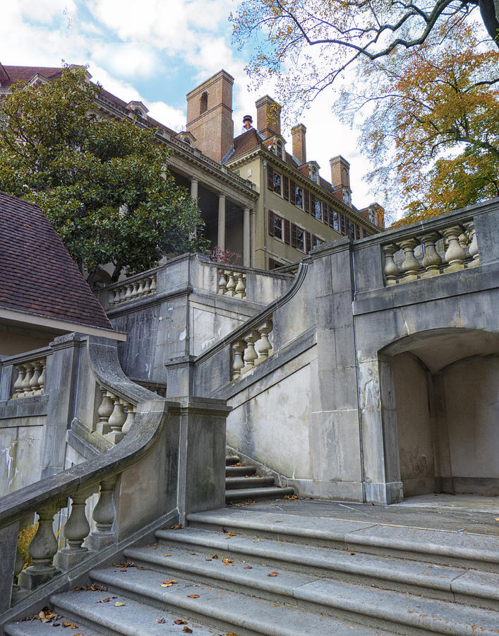 Staircase at Winterthur by Lois Johnson