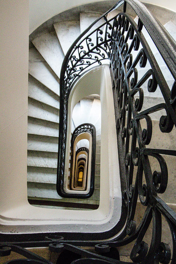 Staircase, Palacio Barolo, Buenos Aires by Venetia Featherstone-Witty